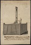 """""""Document relatif à l'établissement de la guillotine à Nantes"""" Papier, encre 1793 M boîte 251 Inv. 936.5.1 (1 et 2) Musée Dobrée - Grand Patrimoine de Loire-Atlantique"""