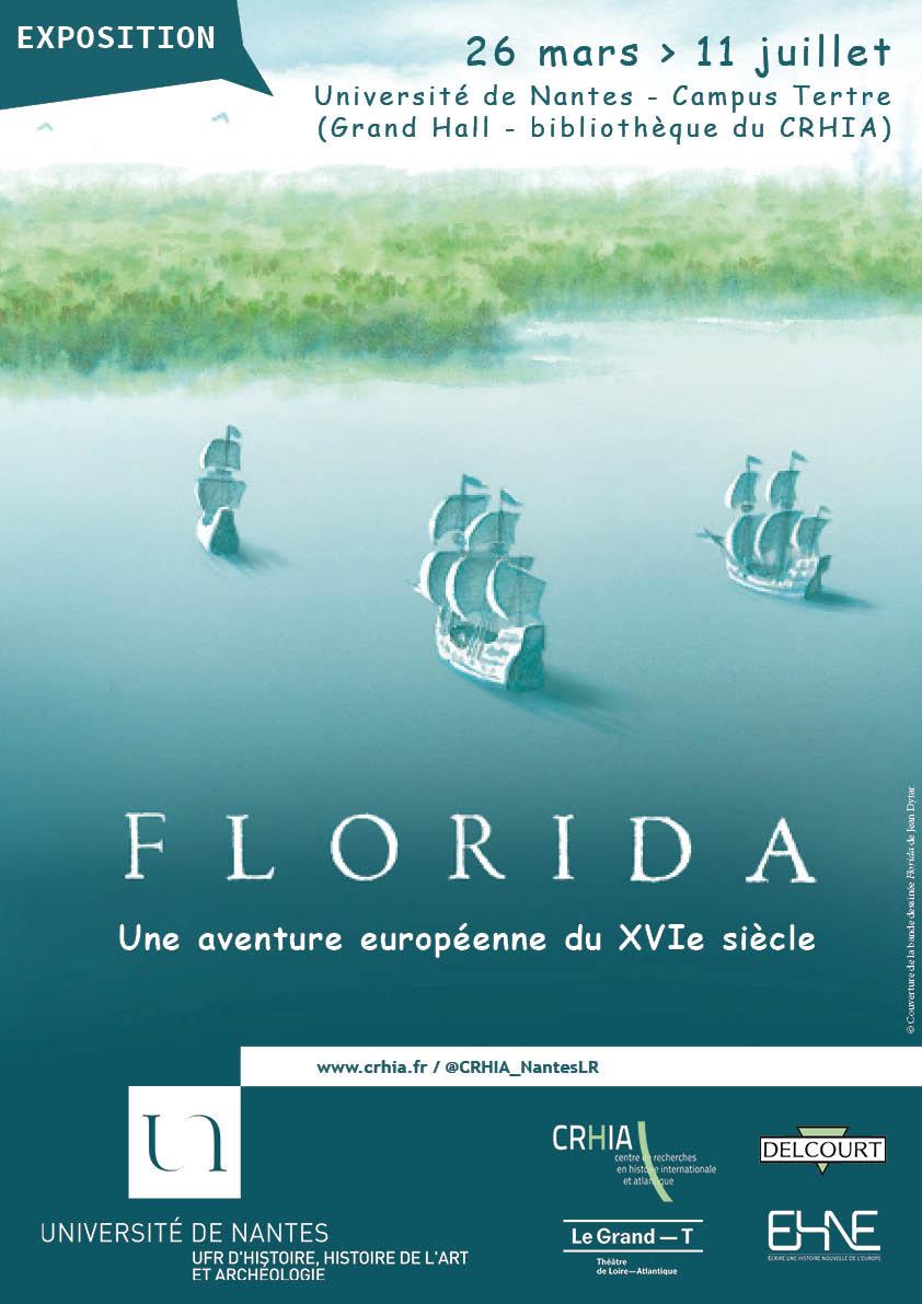affiche exposition Florida